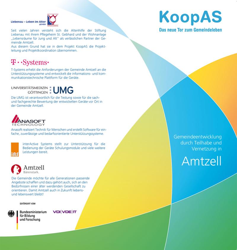 Qualifizierung mit Erklärfilmen | Flyer KoopAS