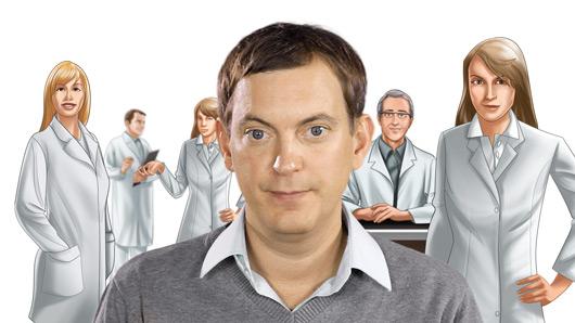 Internet-Applikation | Virtuelle MS-Klinik, Die Aerzte