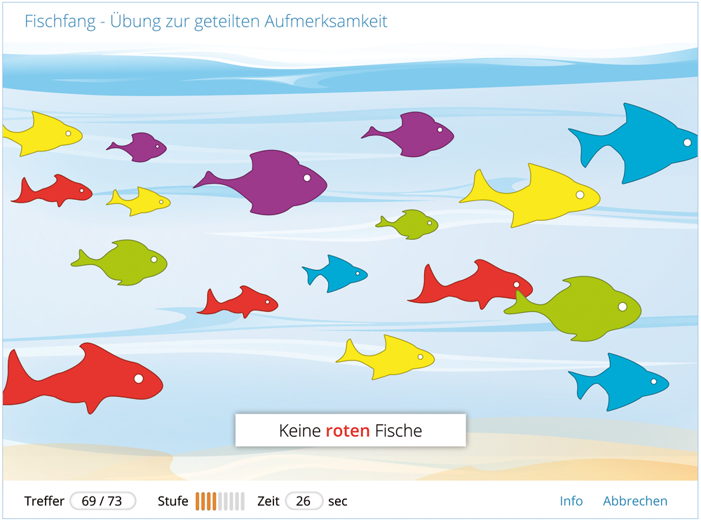Internet-Applikation | Kognitive Übung: Fischfang
